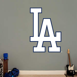 Los Angeles Dodgers Alternate Logo Fathead Wall Decal